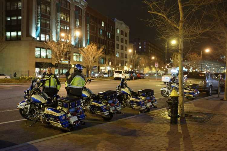 boston police harleys