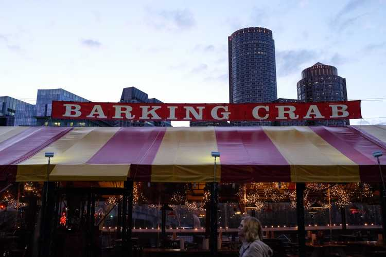 Boston Barking Crab restaurant has amazing lobsters and seriously the perfect white beer