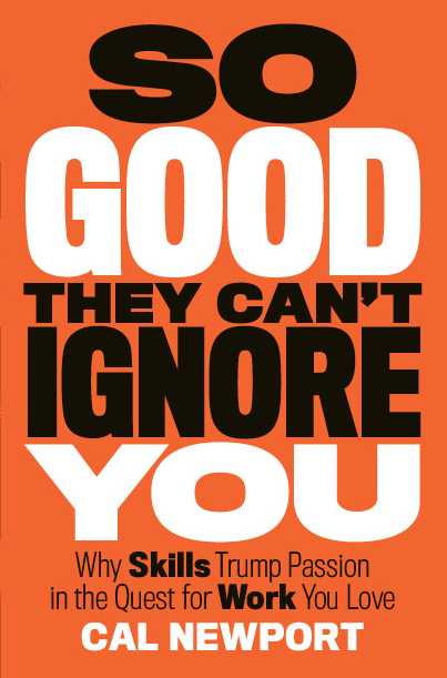 so good they cant ignore you book cover