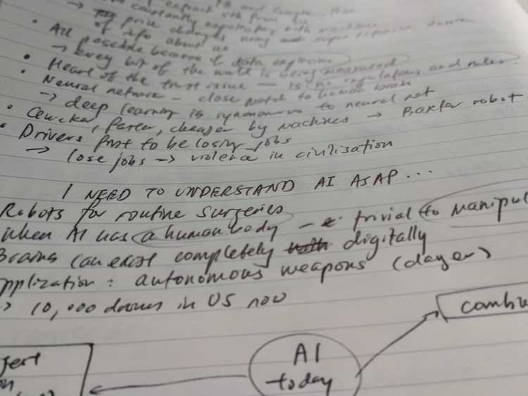 I need to understand artificial intelligence notes