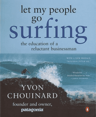 Nick Ang's notes on Let my people go surfing by Yvon Chouinard