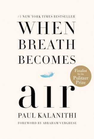When Breath Becomes Air by Paul Kalanithi book cover